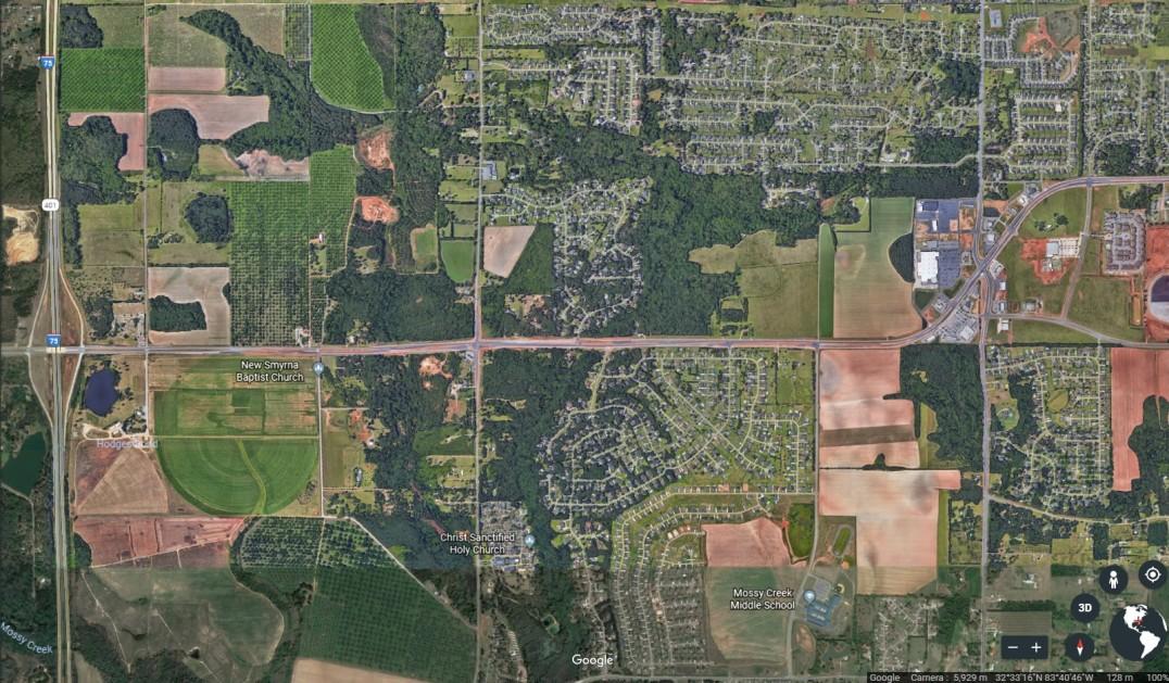 Map Of Highway 41 In Georgia.Us 41 Ga 96 Development Authority Of Peach County Properties