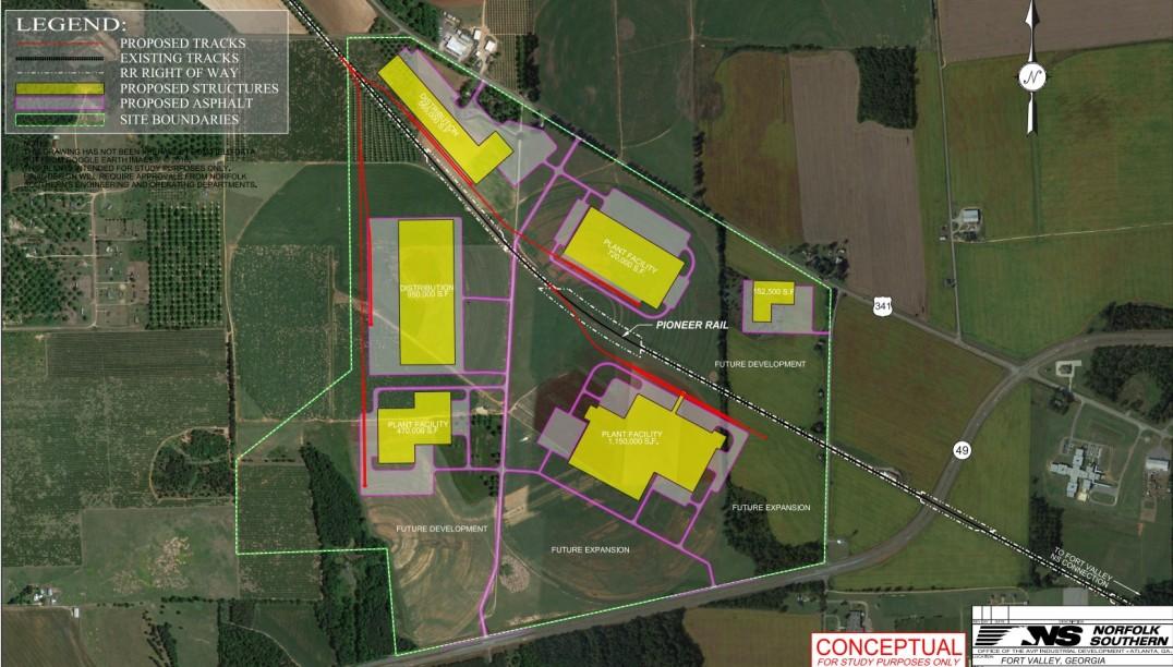 West Peach Industrial Park | Development Authority of Peach County