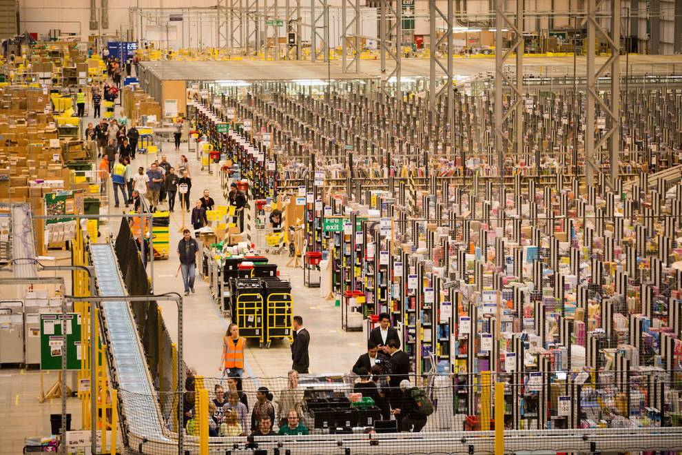 Amazon fulfillment center - Peach County is positioned for an influx of potential fulfillment centers like Amazon.  It's a positive move in the right direction.